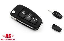 Schlüsselgehäuse Autoschlüssel Klappschlüssel Rohling 3 Tasten für Skoda #63