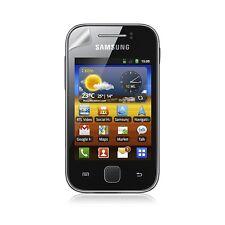 coque étui gaufré pour Samsung Galaxy Y S5360 blanc nacré + Film Protecteur