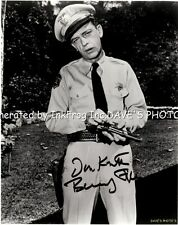 Signed Don Knotts 8X10 B&W RP Photo w/coa Free Shipping