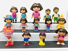 Dora The Explorer And Diego Lot of Family Figures Toys Monkey (A12)
