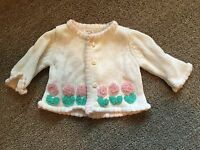 Baby Soft Size 0-6 Months Handmade Baby Crocheted Sweater
