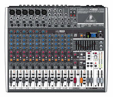Behringer Xenyx X1832USB 18-Input Live Sound Mixer Board w/ USB, Effects & EQ