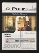 NEUF DVD + CD PARIS PALAIS ROYAL SOUNDWALK WITH H. FILLIERES guides audio vidéo