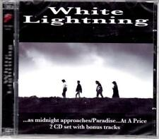 WHITE LIGHTNING - As Midnight Approaches/ Paradise at a Price - 2 CD - NEW