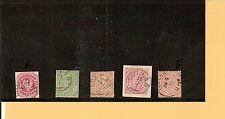 Th&T / LOLLAR 5 feinst-Kabinett-Stücke, dabei je K1 nachverw. a. Pr. 24, NDP 7,
