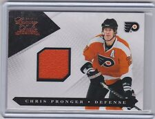 10-11 2010-11 LUXURY SUITE CHRIS PRONGER JERSEY /599 50 PANINI FYLERS