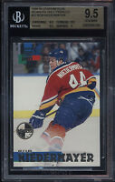 1994-95 Stadium Club Members Only Rob Niedermayer BGS Gem Mint 9.5 FL Panthers