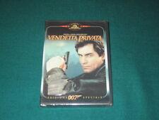 Dvd 007 Vendetta privata James Bond Prima Stampa Edizione Speciale MGM