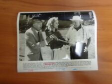 Vintage Glossy Press Photo Movie White Mischief Sarah Miles Joss Ackland