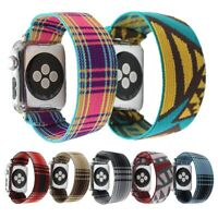 Scrunchie Elastics Loop Band Strap For Apple Watch iWatch Series 5/4/3/2/1 HOT
