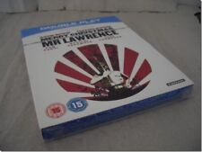 MERRY CHRISTMAS MR LAWRENCE with SLIPCASE blu-ray UK RELEASE NEW FACTORY SEALED