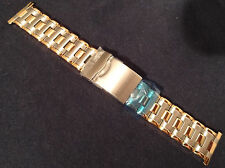 ROWI Made in Germany 24mm Bracelet 2 Tone Security Deployment Watch Band $62.95