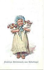 Alte Postkarte zum Geburtstag Stuttgart 11.11.1912 / postcard birthday