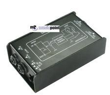 DI Box Direct Box Pro DXI 1 passiv XLR Klinke Groundlift-Schalter
