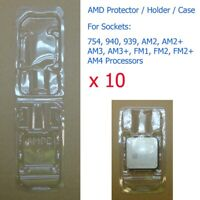 10 x Socket 754 940 939 AM2 AM3 FM1 FM2 AM4 Processor CPU Cover Holder Protector
