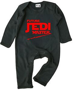 """Jedi Babykleidung """" Zukunft Jedi Master CM Baby-Strampler Anzug Star Wars"""