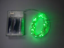 Led Battery String Fairy Lights With 50 Green Leds STOCKED IN THE UK
