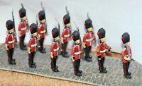 Coldstream Guards Marching F12 UNPAINTED OO Scale Langley Models Kit Figures