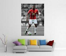 PAUL POGBA MANCHESTER UNITED MAN UTD FC GIANT WALL ART PHOTO PIC PRINT POSTER