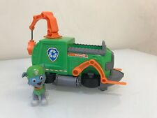 Paw Patrol - Rocky's Tugboat - Vehicle & Rocky  Figure - HTF / Rare Complete Set