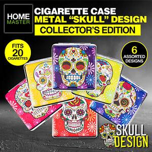 Home Master® Cigarette Case Skulls Collector's Edition Unique Cool Premium