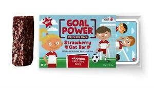 Goal Power Strawberry Oat Bar in Match Box with 5 Playing Cards 20g(Pack of 24)