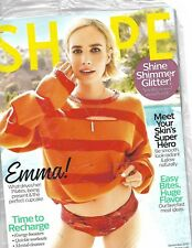 SHAPE MAGAZINE DECEMBER 2017 EMMA WHAT DRIVES HER PILATES SHIPS FREE