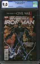 Invincible Iron Man #9 CGC 9.0 (W) 1st full appearance of Riri Williams