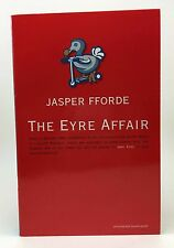 JASPER FFORDE The Eyre Affair UK Proof 1st Signed Softcover