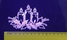 Christmas/Candle/Holly/Cutting/Embossing/Die