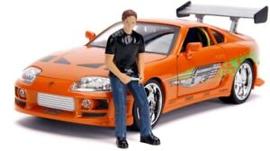 NEW 1:18 F&F Brian W/Toyota Supra - Fast N Furious Movie from Mr Toys