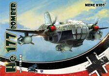 MENG KIDS mPLANE-003 He 177 BOMBER [Q Edition]