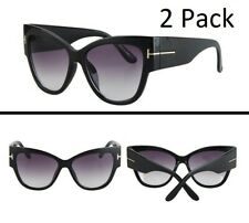 Elite Cat Eye Anoushka Oversized Womens Sunglasses Retro Vintage Thick Frame