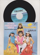 "Vanua Levu - Words Familiar And Simple / Lula, Lu  (7 "" Vinyl-Single 1983) !!!"