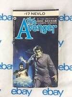 THE AVENGER 17 Nevlo by Kenneth Robeson 1973 Warner pb 1st Ed