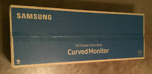 Samsung 49'' CJ890 Series Curved Ultra-Wide Monitor C49J890DKN