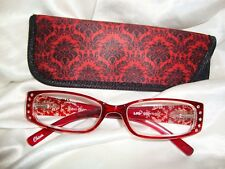Reading Glasses-Red Gem  2.00