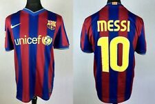 MESSI #10 Barcelona 2009/2010 NIKE Home Football Shirt Mens Size M Soccer Jersey