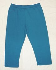JMS Just My Size Plus 50/50 Sweatpants 4X 26W-28W Aqua Blue NEW...