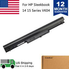 New Notebook Battery - HP Pavilion Touchsmart 14-b109wm Sleekbook VK04 4cell USA