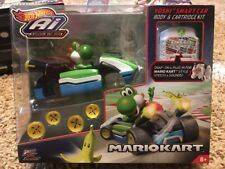 Hot Wheels Ai Mario Kart Yoshi Smart Car Body & cartridge Kit Mariokart