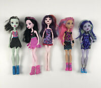 Monster High Lot 5 Dolls Twyla Howleen Draculaura Frankie Stein Ghoul Spirit
