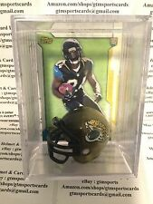 T.J. Yeldon Jacksonville Jaguars Mini Helmet Card Display Case Auto RB Alabama