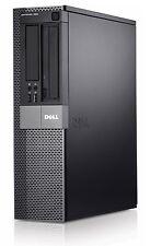 Dell Optiplex 960 Desktop Computer PC Core 2 Duo 3.0GHz 8GB Windows 10 1TB Wifi