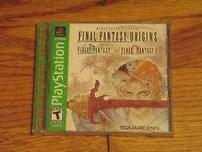 Final Fantasy Origins Sony PlayStation Final Fantasy 1 & 2 PS1 Brand New sealed