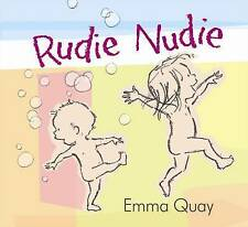 RUDIE NUDIE Emma Quay HARD BACK DUST JACKET BOOK vgc STANDARD SIZED