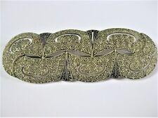 Große antike Brosche Silber 925 vergoldet, Theodor Fahrner, 13,68 g