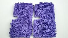 Shark Steam Mop Steamer Micro-Coral Replacement Shaggy Duster Pads Set of 2