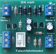 Falschfahrtmodul, für NRMA DCC, Märklin digital, Wechselstrom analog