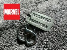 Wolverine Logan dog tag keychain X-MEN Full metal Comic Collectible cosplay USA